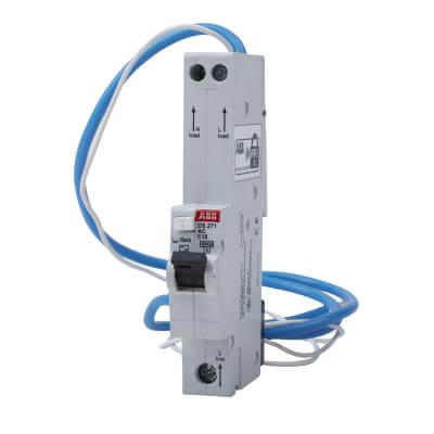 ABB 16A 30mA 10kA 1 Module 3 Phase RCBO - Type C)