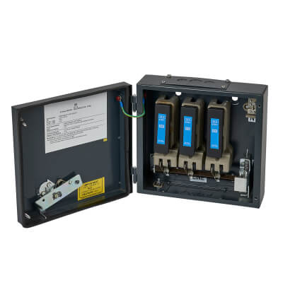 CED 32A 3 Phase Switch Fuse