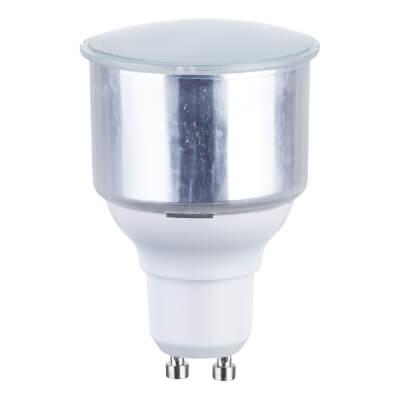 11W GU10 Low Energy Lamp - Warm White)