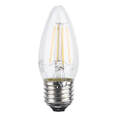 Status 4W ES LED Filament Candle Lamp)