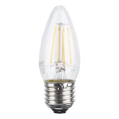 Status 4W ES LED Filament Candle Lamp )