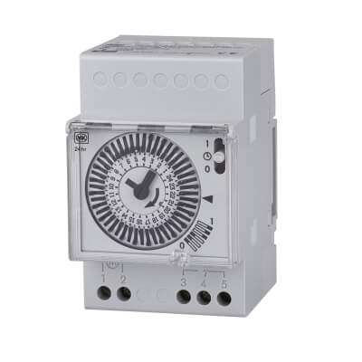 MK Sentry 24 Hour Time Switch - White)