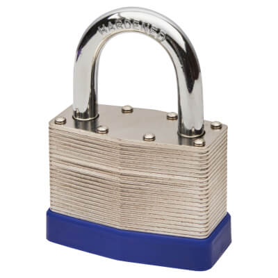 Laminated Padlock - 60mm - Keyed to Differ)