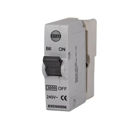 Wylex 6A Plug In MCB - Type B)