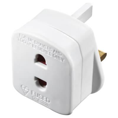 BG 1A Shaver Adapter - White)