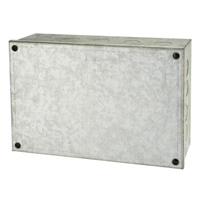 Adaptable Back Box - 9 x 6 x 3 Inch - Galvanised)