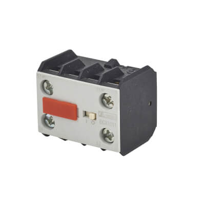 Lovato 10A Auxiliary Contact - 1 Normally Open and 1 Normally Closed