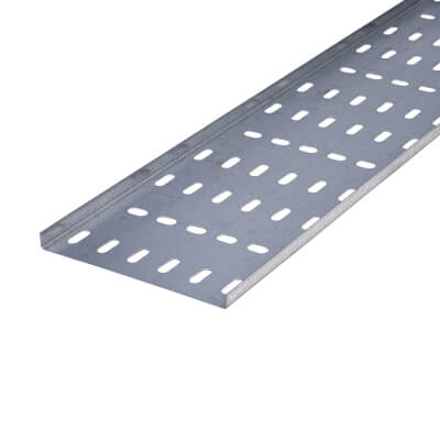 Light Duty Cable Tray - 150 x 3000mm - Galvanised)