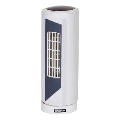 15 Inch Mini Tower Fan - White)