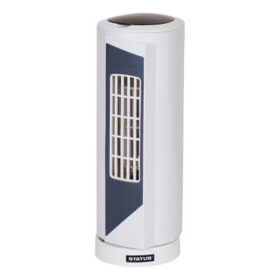 15 Inch Mini Tower Fan - White)