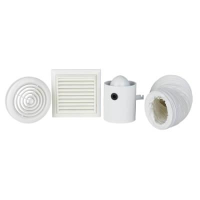 4 Inch Inline Extractor Fan Kit)