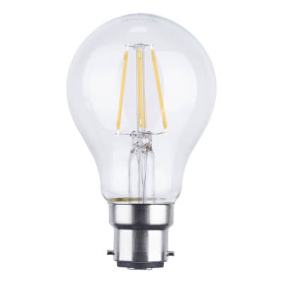 6W BC LED Filament Candle Lamp)
