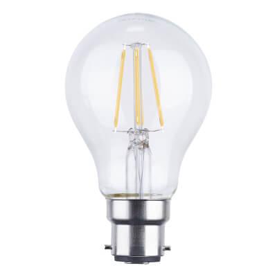 6W BC LED Filament Candle Lamp)