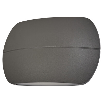 Integral LED 8.5W LuxStone Outdoor Wall Light - Dark Grey)