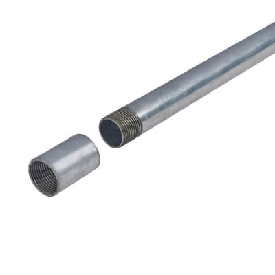 Steel Conduit - 25mm - 3000mm - Galvanised