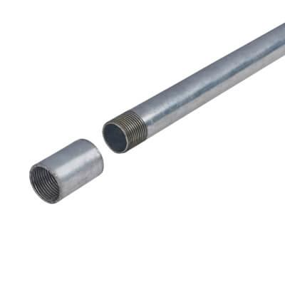 Steel Conduit - 25mm - 3000mm - Galvanised)