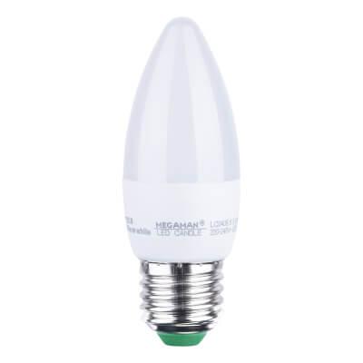 5.5W ES LED Candle Lamp - Warm White)