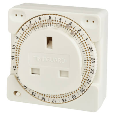 Timeguard 24 Hour Plug In Timer  - Compact)