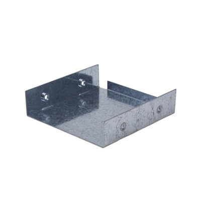 Stop End - 100 x 100mm - Galvanised