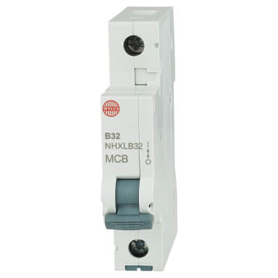 Wylex 32A NH Single Pole MCB - Type B)