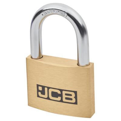 Solid Brass Padlock - 60mm - Keyed Alike Key No 2)