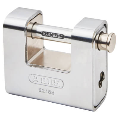 ABUS Series 92 Steel Shutter Padlock - 65mm - Keyed To Differ)