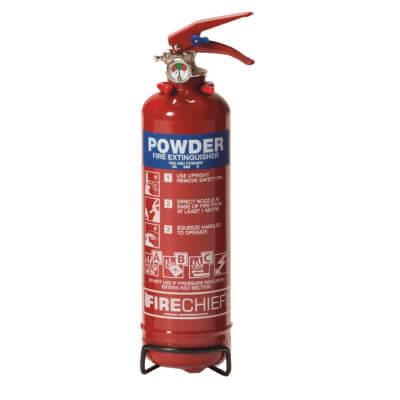 Dry Powder Fire Extinguisher - 1 Litre)
