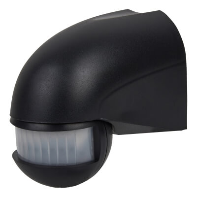 180° External PIR  Sensor - Black)
