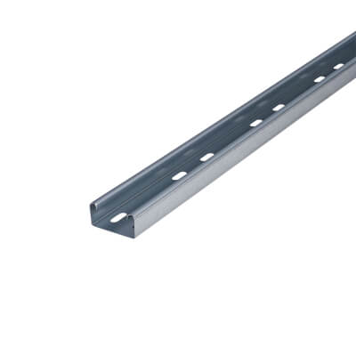 Medium Duty Cable Tray - 50 x 3000mm - Galvanised)