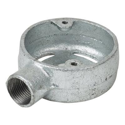 Steel Conduit Skeleton Terminal Box - 20mm - Galvanised)