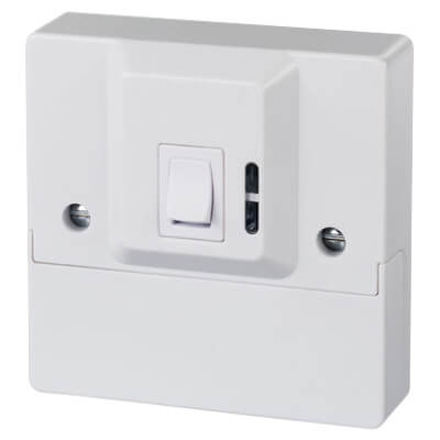 Timeguard 2 Way Security Switch - 1 Gang)
