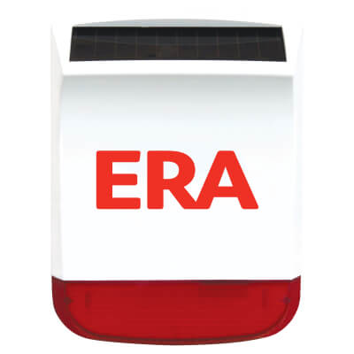 ERA Solar Charged Wireless External Siren for ERA Alarm Systems )
