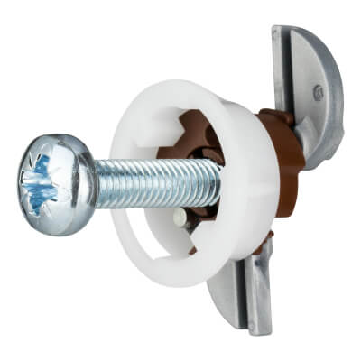 Grip It Plasterboard Fixing - 20mm Hole - M6 x 30mm Screw - Pack of 4)