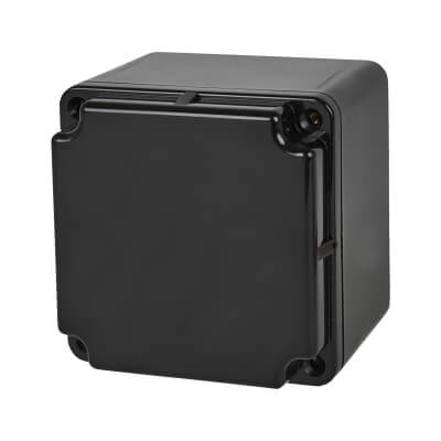 Marshall Tufflex IP66 75mm PVC Adaptable Box - Black