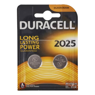 Duracell Lithium Batteries - 2 x 3V - 2025 - Pack 2)