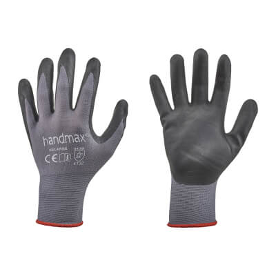 Nitrile Work Gloves - Size 9 - L)