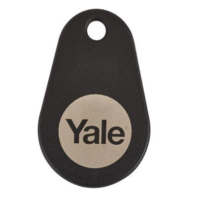 Yale Keyless Nightlatch Key Tag - Black - Pack of 2)