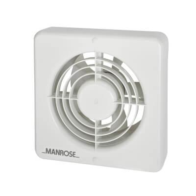Manrose XF150BH 6 Inch Humidistat Extractor Fan)