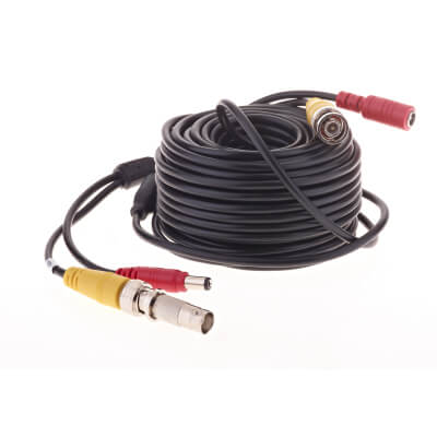 Yale Easy Fit CCTV BNC Extension Cable - 30m)
