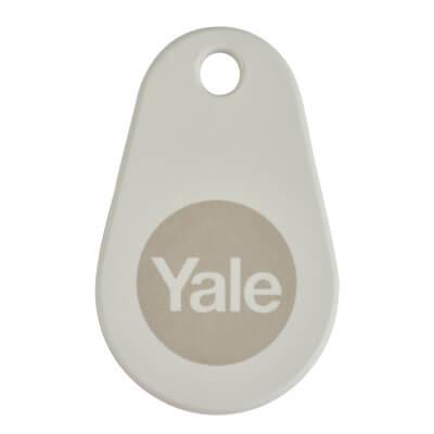Yale Keyless Nightlatch Key Tag - White - Pk 2)