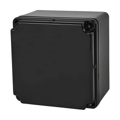 Marshall Tufflex IP66 PVC Adaptable Box - 100mm - Black)
