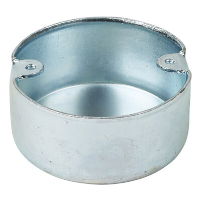 Steel Conduit Looping In Box - 2 Hole - 20mm - Galvanised