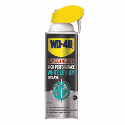 WD-40 High Performance White Lithium Grease - 250ml)