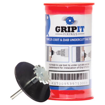 Grip It Dot and Dab Kit - Blue - 25mm)