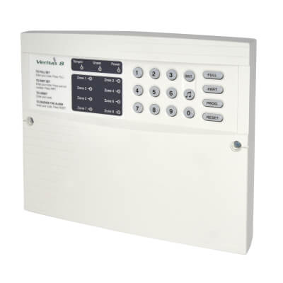 Texecom 8 Zone Key Panel & Keypad)