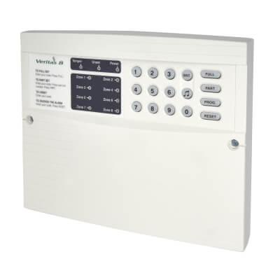 Texecom 8 Zone Key Panel & Keypad)