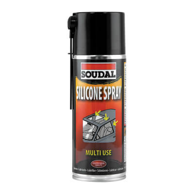 Soudal Silicone Spray - 400ml)