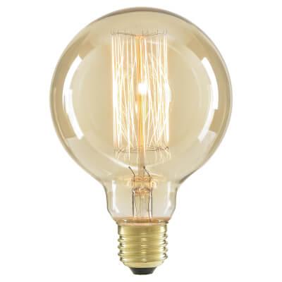 6W LED Vintage Large Globe - E27 - Tinted)