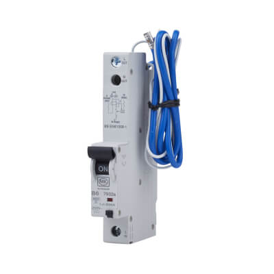 MK Sentry 6A 30mA Single Pole RCBO - Type B)