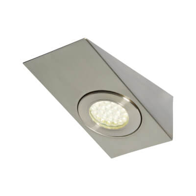 1.5W 240V LED Wedge Cabinet Light - Cool White)